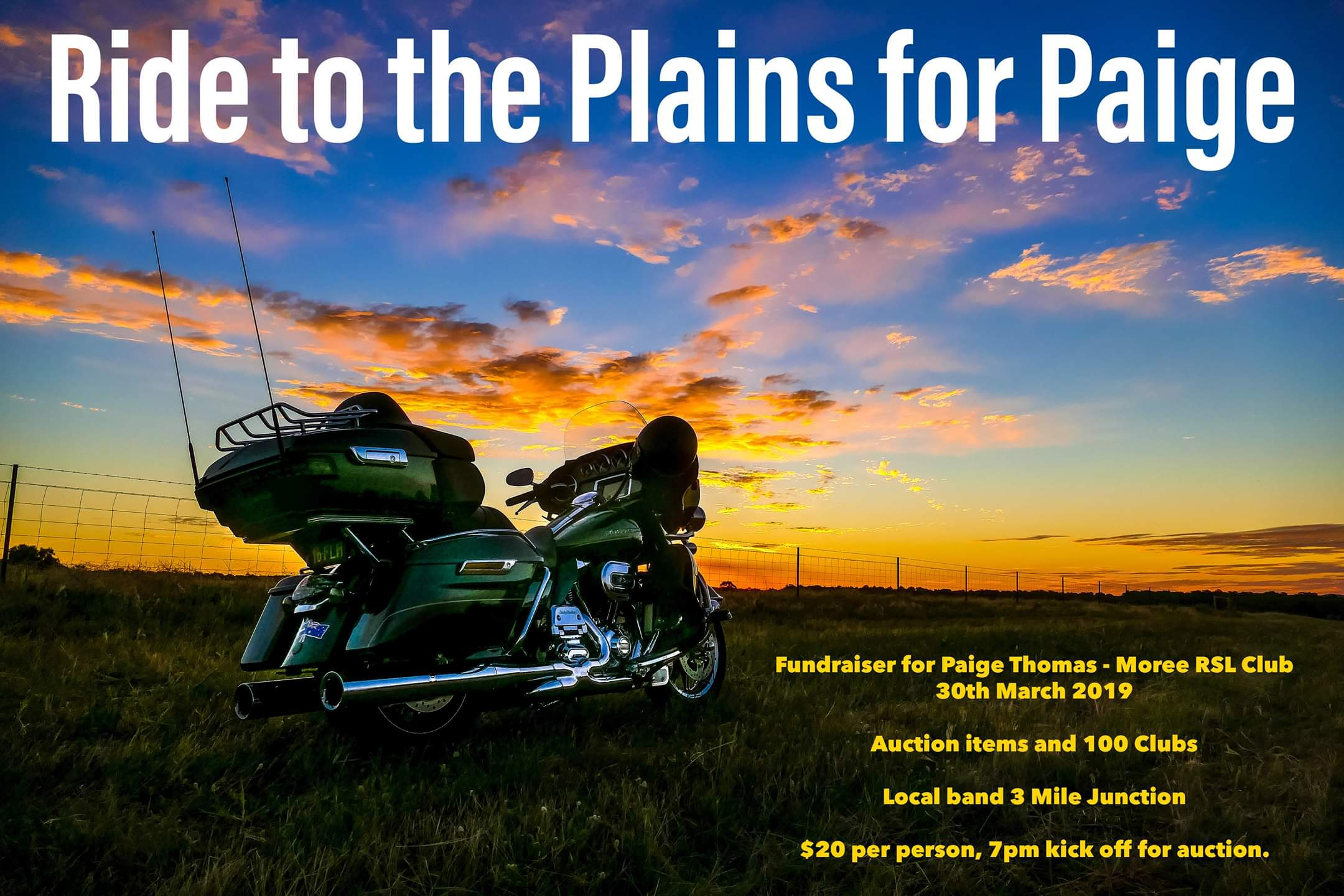 Ride to the Plains for Paige